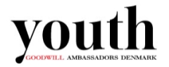 Are you our next Youth Goodwill Ambassador? (deadline September 1, 2011)