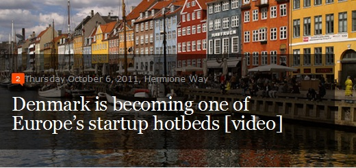 Denmark is a European startup hotbed