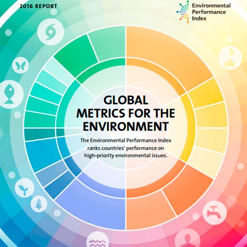 Denmark, No. 4 in Environmental Performance Index 2016