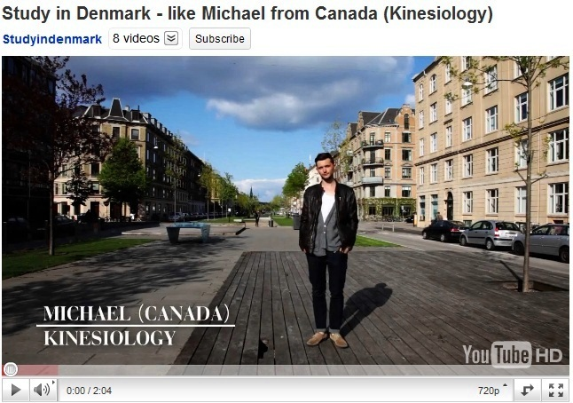 New videos: International students tell what it's like to study in Denmark