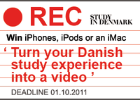 Win an iMac: Turn your Danish study experience into a video (Deadline: 01.10.2011)