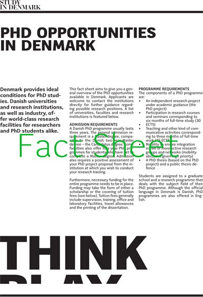 PhD & research — Study in Denmark