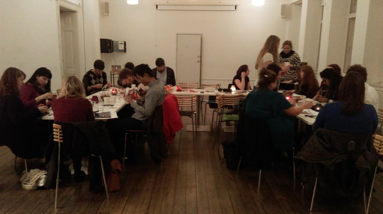 Luckily it is springtime in Denmark, but six months ago Danish and international students were making Christmas decorations in Copenhagen's Student House.